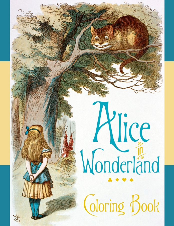 Alice in Wonderland Coloring Book Coloring Book | PuzzleWarehouse.com
