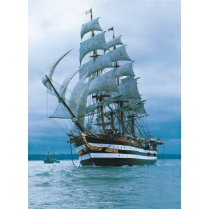 Amerigo Vespucci - Scratch and Dent Boats Jigsaw Puzzle