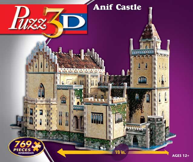 Anif Castle - 3D Puzzle 3D Puzzle