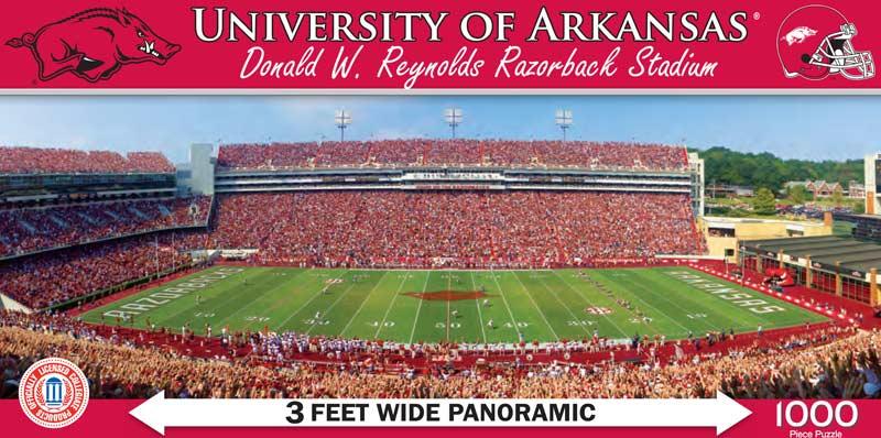 University of Arkansas Sports Jigsaw Puzzle