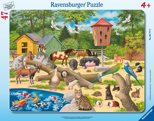 At the Petting Zoo Other Animals Jigsaw Puzzle