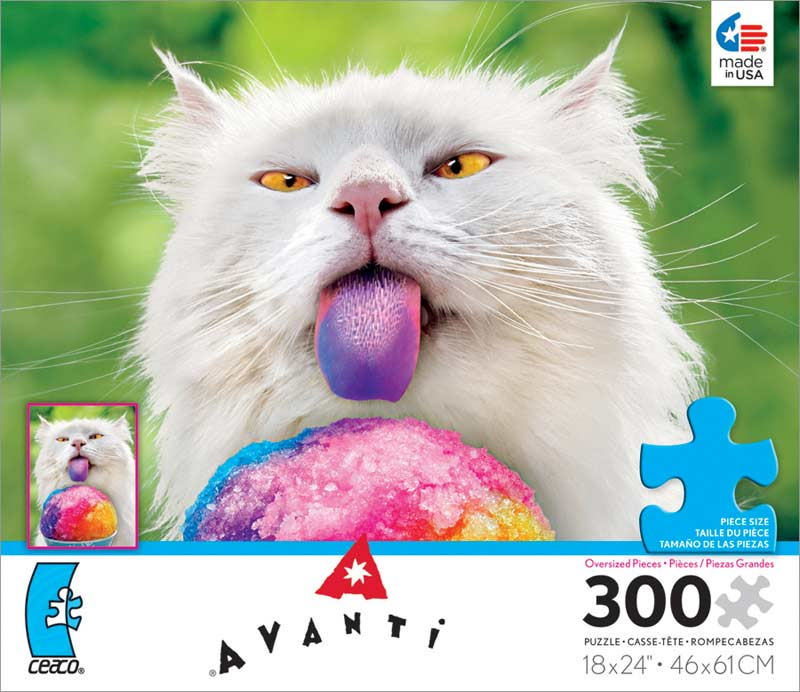 Avanti - Brain Freeze Cats Jigsaw Puzzle