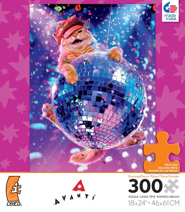 Avanti - Disco Cat Cats Jigsaw Puzzle