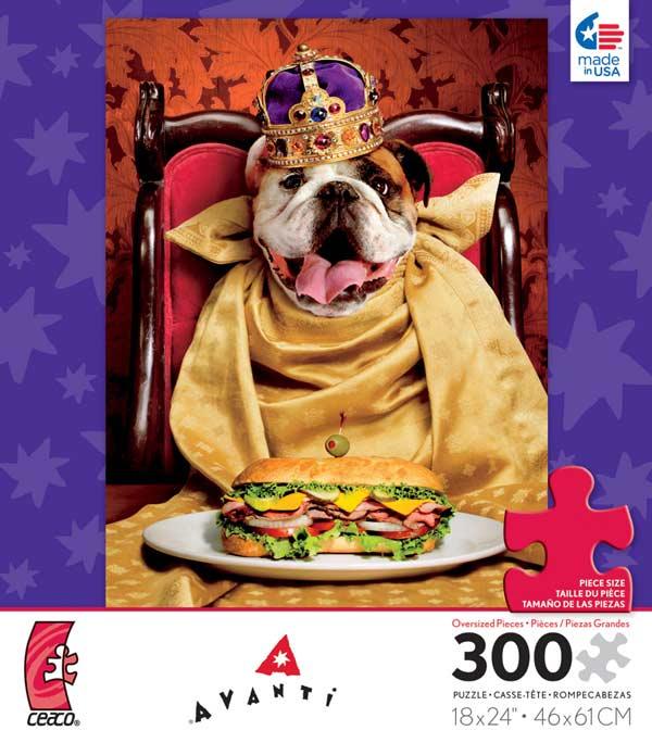 Avanti - King Dog Dogs Jigsaw Puzzle