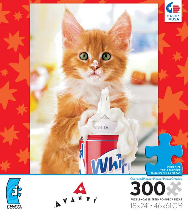 Avanti - Whip Cream Kitty Cats Jigsaw Puzzle