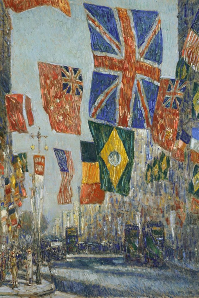 Avenue of the Allies by Childe Hassam Fine Art