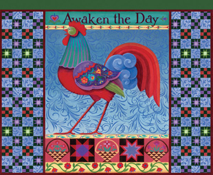 Awaken the Day Quilting & Crafts Jigsaw Puzzle