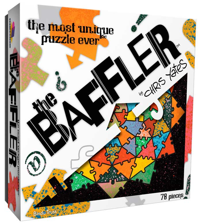 The Baffler - Bindu Truss Graphics / Illustration Jigsaw Puzzle