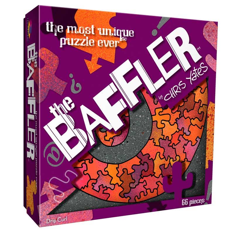 The Baffler - Drip Curl Graphics / Illustration Jigsaw Puzzle