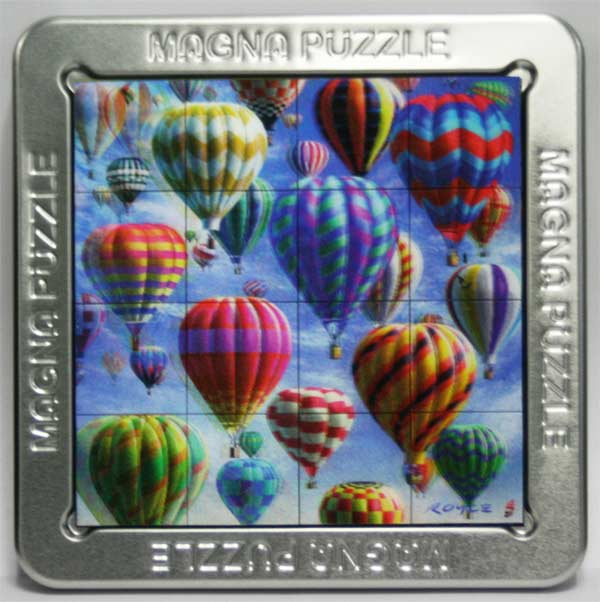 3D Magna Puzzle - Balloons Balloons Lenticular
