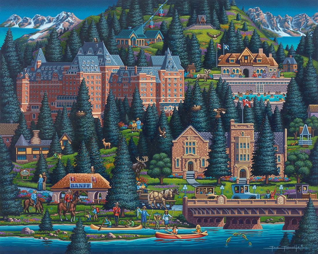 Banff Summer Jigsaw Puzzle