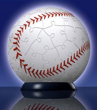 Baseball Sports Puzzleball