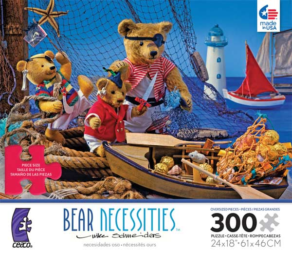 Bear Necessities - Pirate Bears Jigsaw Puzzle