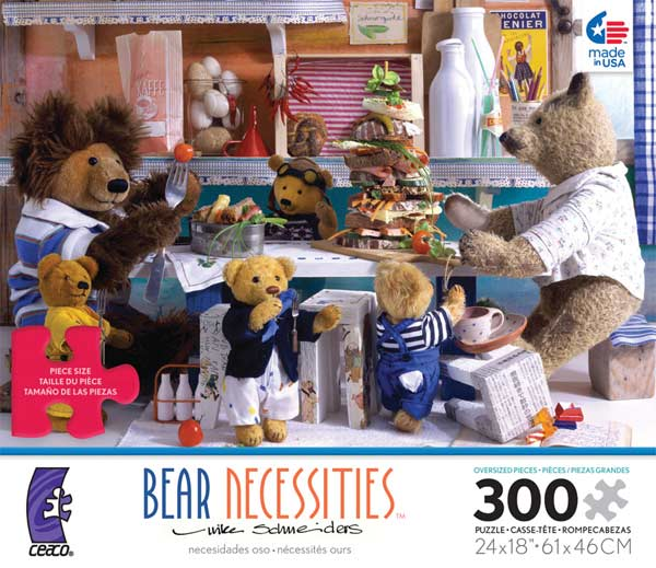 Bear Necessities - Ultimate Sandwich Bears Jigsaw Puzzle