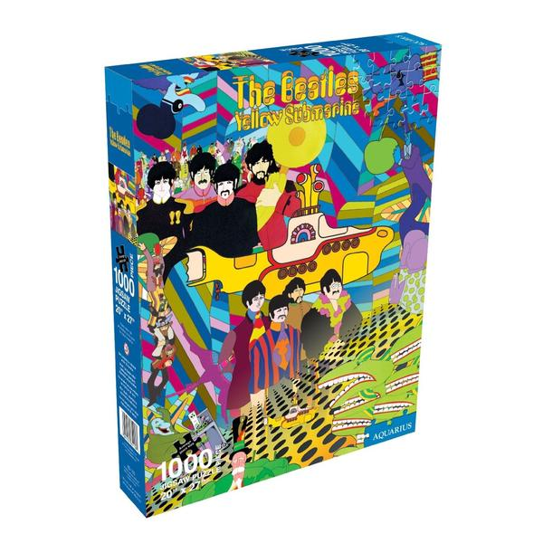The Beatles - Yellow Sub Egypt Jigsaw Puzzle