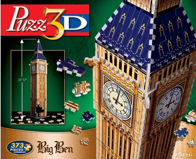 Big Ben - 3D Puzzle London 3D Puzzle