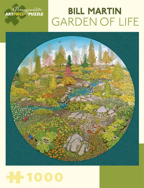 Garden of Life Fine Art Jigsaw Puzzle