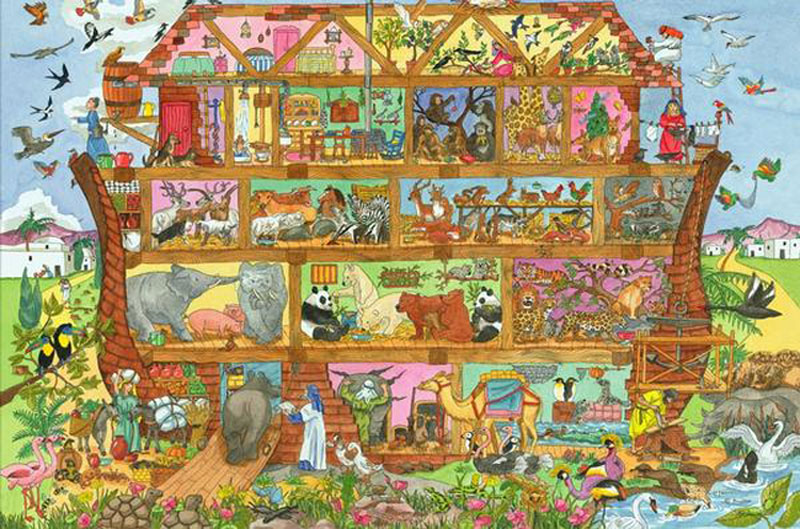 Noah's Ark Floor Puzzle (24pc) Religious Children's Puzzles