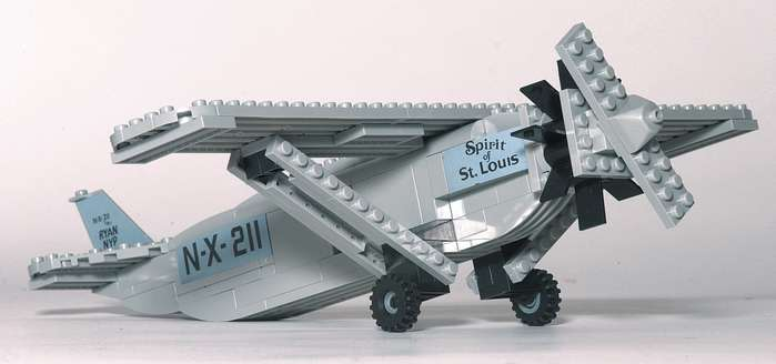Spirit of St. Louis 140pc Construction Toy