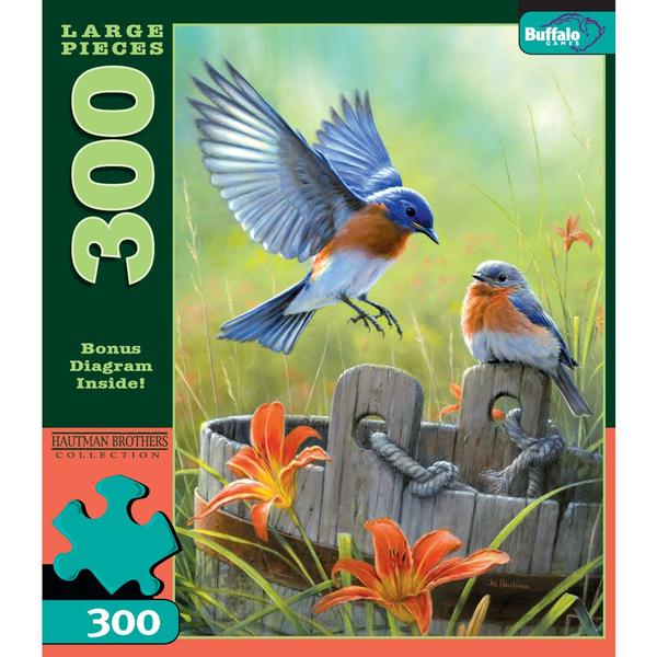 Bluebirds Birds Jigsaw Puzzle