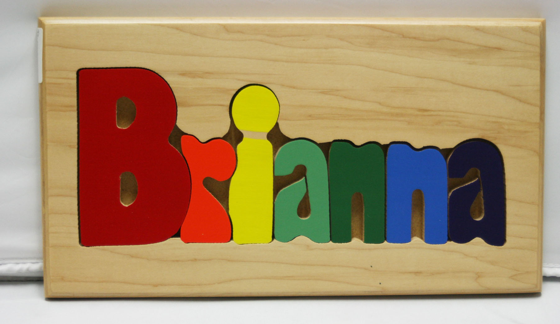 Brianna Wooden Name Puzzle