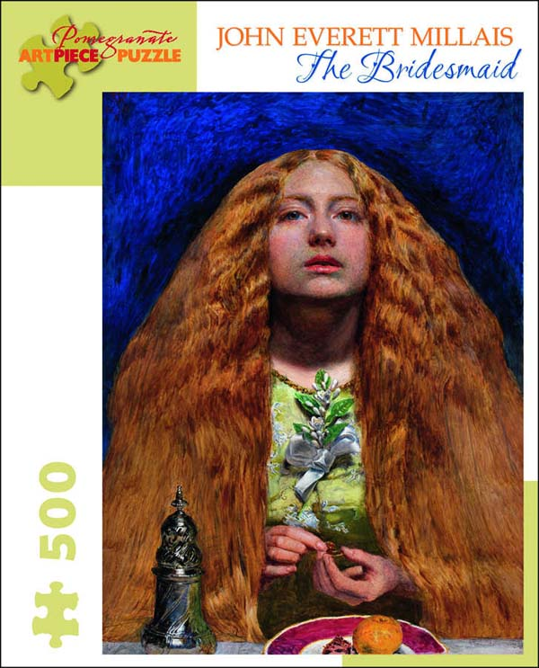Millais: The Bridesmaid Fine Art Jigsaw Puzzle