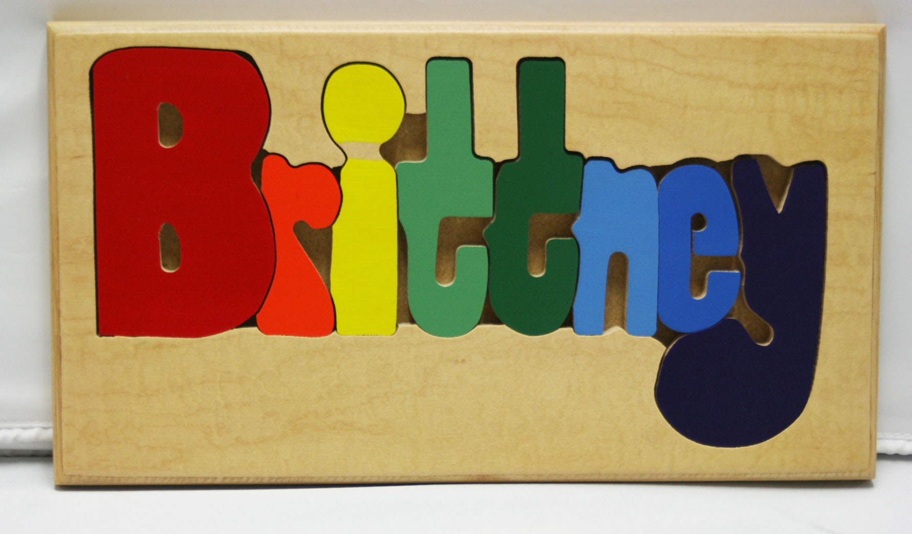 Brittney Wooden Name Puzzle