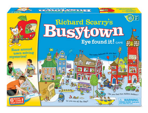 Richard Scarry's Busytown - Eye Found It! Game Movies / Books / TV