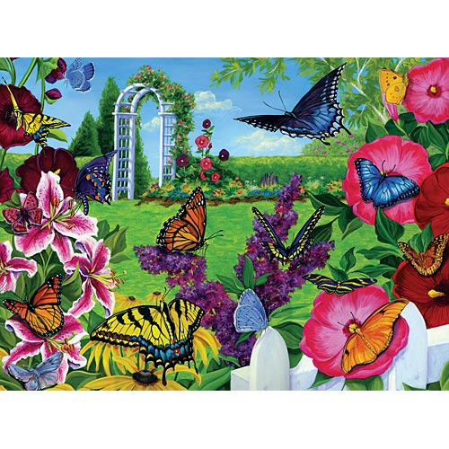 Butterfly Days Butterflies and Insects Jigsaw Puzzle