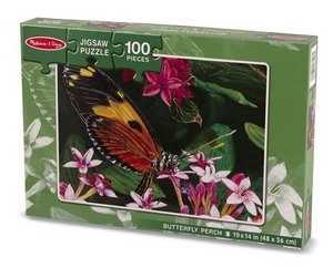 Butterfly Perch Butterflies and Insects Children's Puzzles