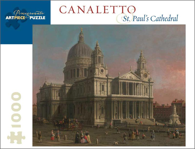Canaletto: St. Paul's Cathedral Churches Jigsaw Puzzle