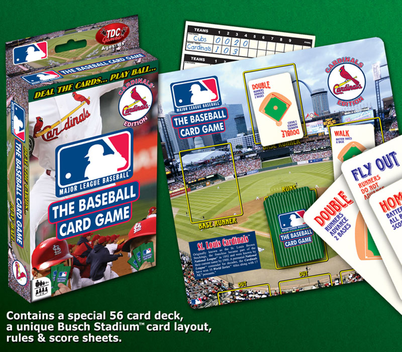 Baseball Card Game St Louis Cardinals