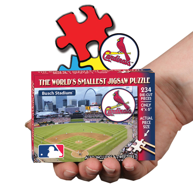 World's Smallest Puzzles MLB - St. Louis Cardinals St. Louis Cardinals Jigsaw Puzzle