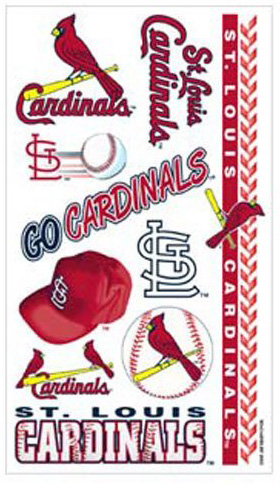 St. Louis Cardinals Tattoos - Traditional Sports Accessory