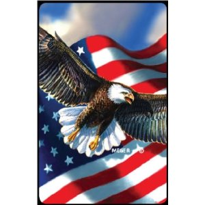 Bridge Playing Cards - Patriotic Eagle Eagles