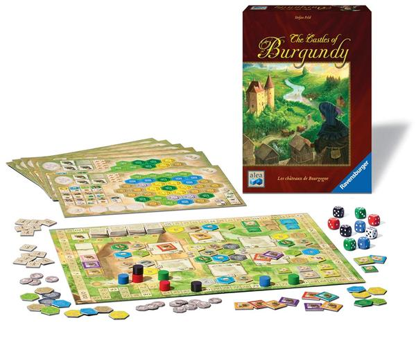 The Castles of Burgundy History