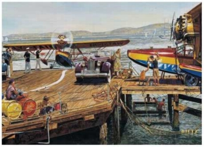 Catalina Landing Planes Jigsaw Puzzle