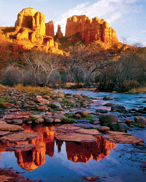Cathedral Rock Landscape Jigsaw Puzzle