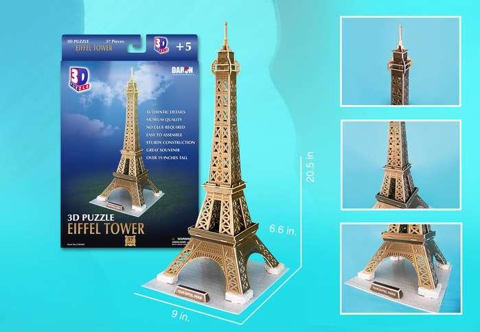 Eiffel Tower Landmarks / Monuments Jigsaw Puzzle