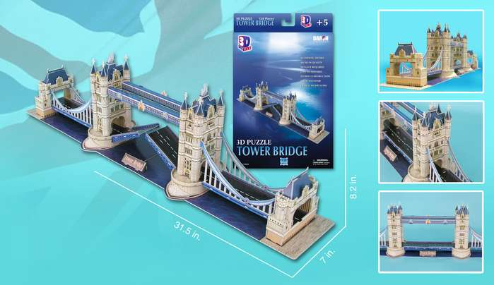London Tower Bridge Landmarks / Monuments Jigsaw Puzzle