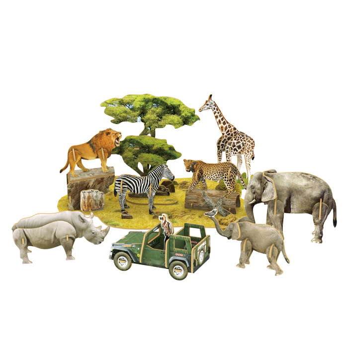 National Geographic African Wildlife Wildlife 3D Puzzle