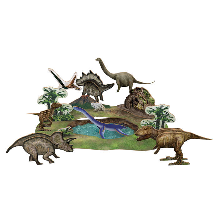 National Geographic Dinosaur Park Dinosaurs 3D Puzzle