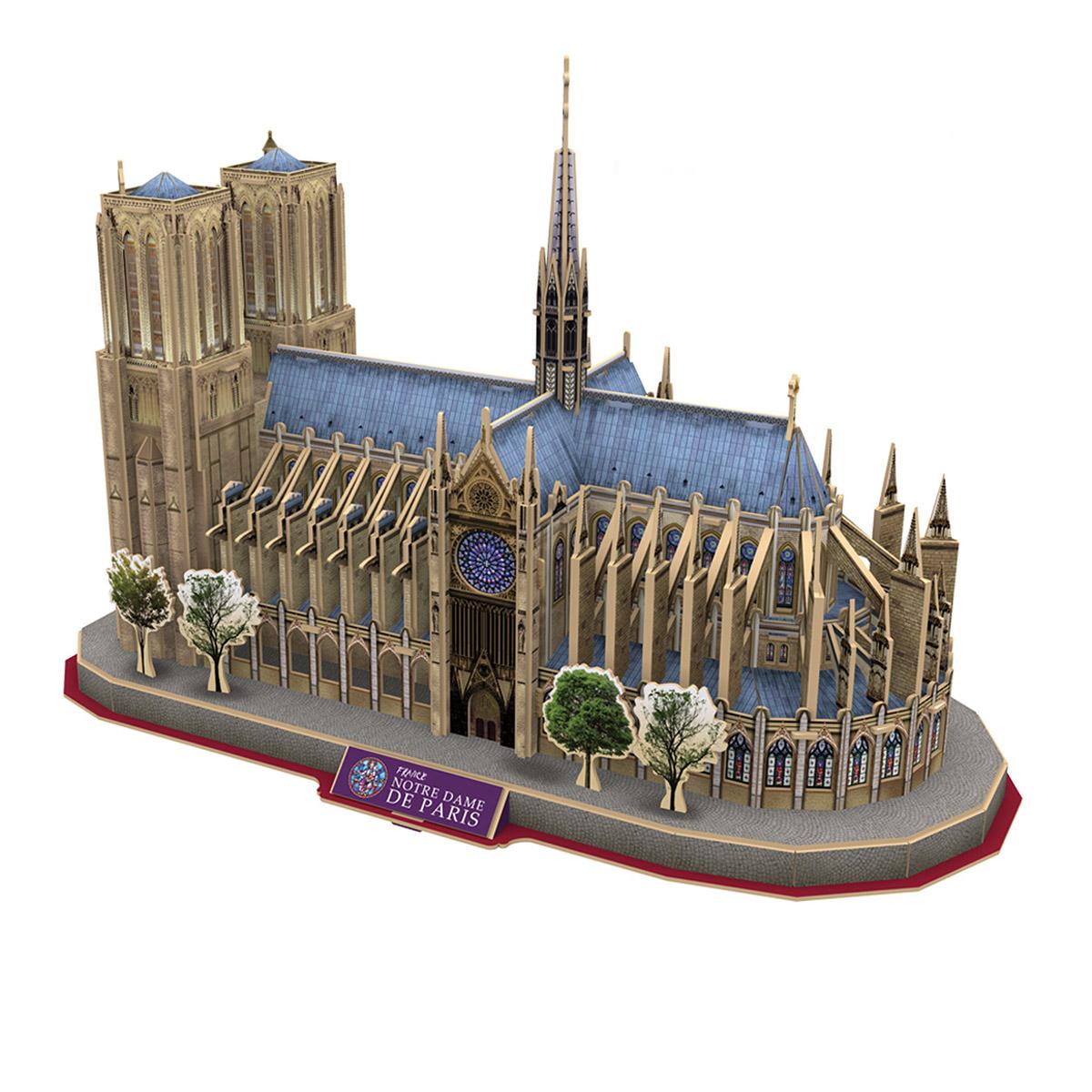 Notre Dame of Paris Churches 3D Puzzle