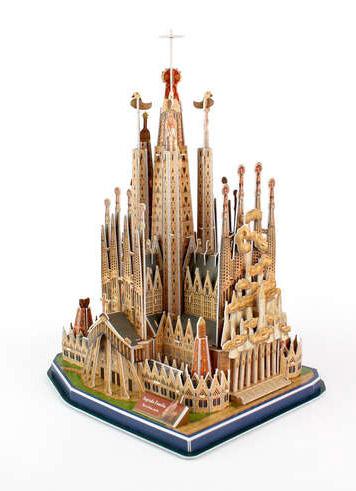 Sagrada Familia Churches 3D Puzzle