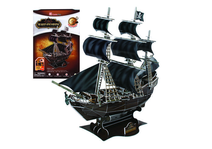 Queen Anne's Revenge Boats Jigsaw Puzzle