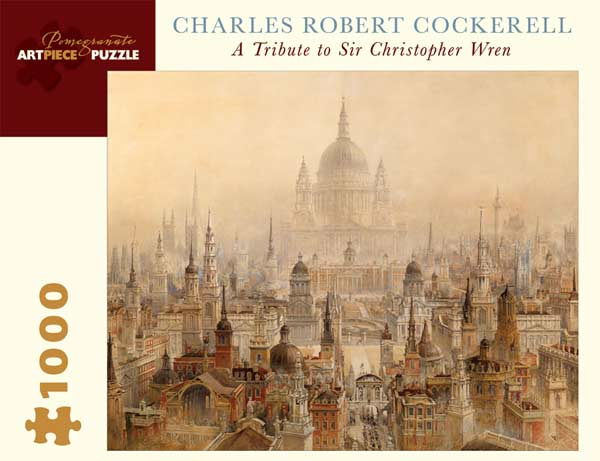 A Tribute to Sir Christopher Wren Fine Art Jigsaw Puzzle