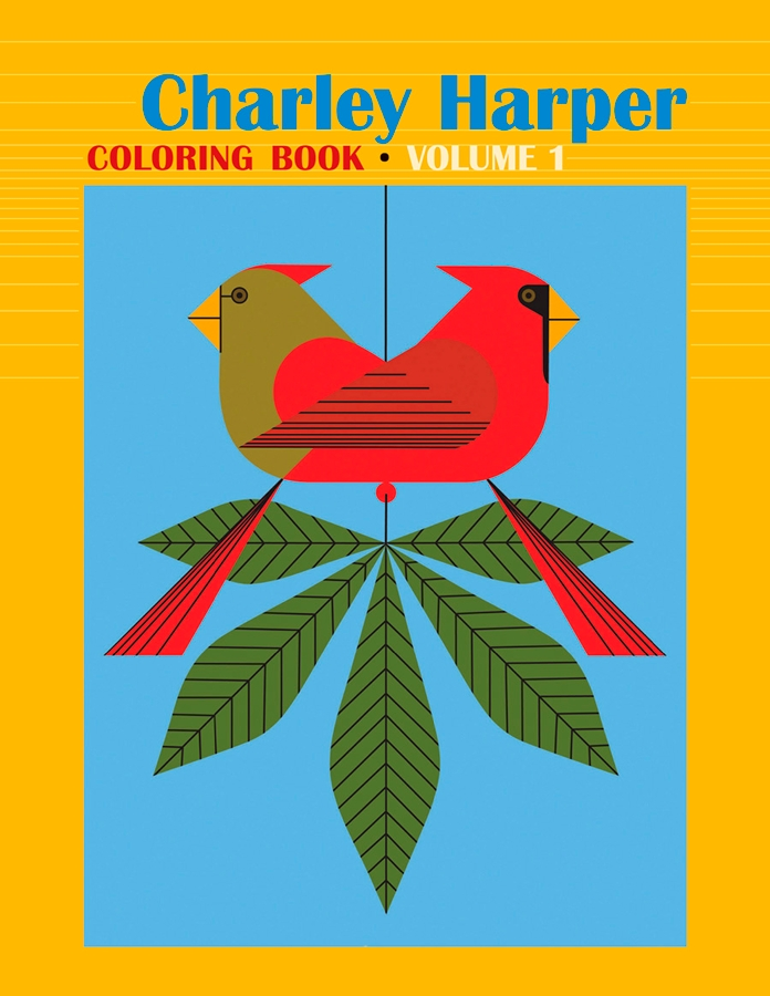 Charley Harper: Volume 1 Coloring Book Coloring Book ...