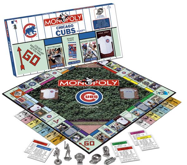 Monopoly Cubs Puzzlewarehouse Com