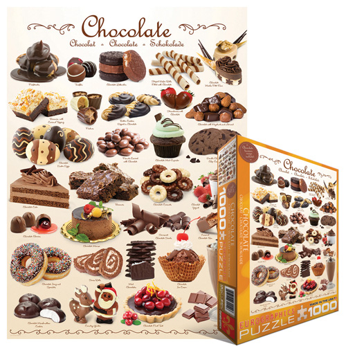 Chocolates Food and Drink Jigsaw Puzzle