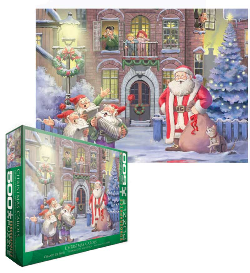 Christmas Carols - Scratch and Dent Santa Jigsaw Puzzle